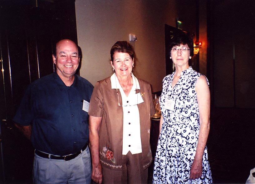 Joe Eger and Jackie Miller with Pioneer Award Lecturer, Jan Peters