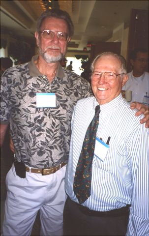 Joe Knapp and Lewis Wright